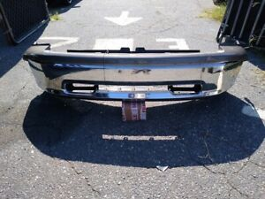 2009 2012 Dodge Ram 1500 Front Bumper Assembly Chrome Steel 09 12