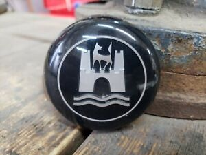 Vintage 1960 1971 Vw Bug Bus Gia Wolfsburg Horn Button Emblem Black Germany