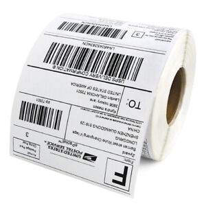 2 Rolls 4x6 Direct Thermal Shipping Labels Self adhesive Paper 350 Per Roll