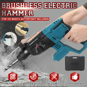 Multifunctional Electric Demolition Jack Hammer Impact Drill Concrete Heavy Duty