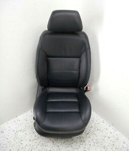 03 04 Volkswagen Jetta Front Passenger Right Seat Electric Oem Leather Black