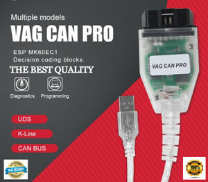 Vcp Scanner Vag Can Pro 5 5 1bus Uds K Line Odb2 Diagnostic Tool With Usb Dongle