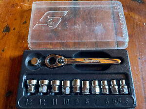 Snap On Rat72 6 Point Low profile Ratchet Metric Mint