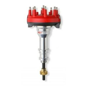 Msd 8379 Crank Trigger Distributor Bronze Gear Red Cap For Ford 289 302 New