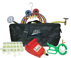 Atd Tools 90 Brand New Air Condition Tool Set Bag Kit
