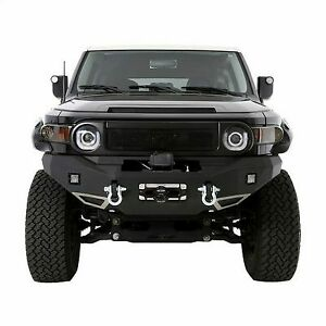 Smittybilt M1 Toyota Fj Cruiser Winch Mount Front Bumper With D Ring Mounts And