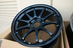 Volk Ce28sl 18x9 5 35 5x120 Forged Wheels Mag Blue For Civic Type R