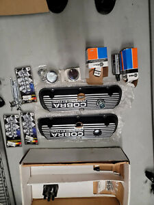 Classic Ford Mustang Aluminum Cobra Valve Covers With Extras