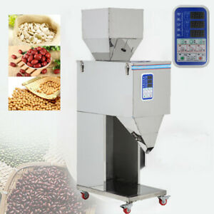 220v Automatic Powder Racking Filling Machine Weigh Filler For Tea Seed Grain De