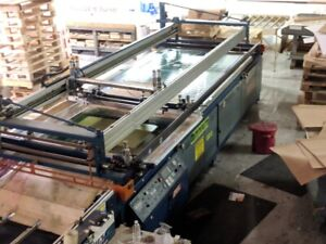 Large Format Long Stroke Screen Printing With Uv Dryer And Exposure Unit Rolle
