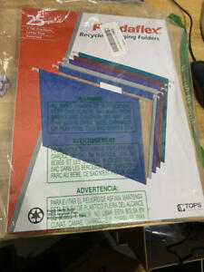 Pendaflex Recycled Hanging File Folders Letter Size Assorted Jewel tone
