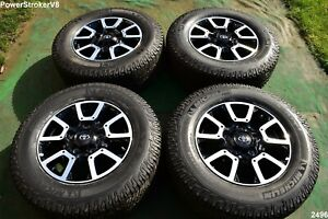 18 Toyota Tundra Off Road Oem Factory Wheels Tires Trd Offroad Sequoia 2020