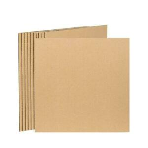 50 Lp Record Mailer Catalog Albums Book Insert Pads Corrugated 12 25 X 12 25