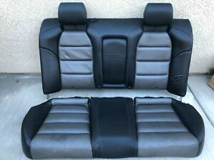 2007 2008 Acura Tl Type s Rear Upper lower Seat Cushions Set Pair wear Oem