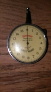 Starrett Last Word 711 d 10 Dial Indicator With Universal Shank And Box