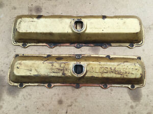 Oldsmobile Script Embossed Lettered Valve Covers 260 307 330 350 400 403 425 455