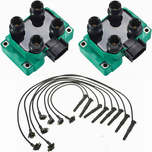 Wireset Performance Racing High Ignition Coil For 89 03 Ford Escort 2 0l L4