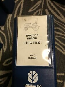 New Holland T1510 T1520 Tractor Service Repair Manual A12
