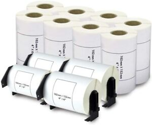 12 Roll 4 X 6 Dk 1241 Address Ship Paper Labels For Brother Ql 1050 Bpa Free