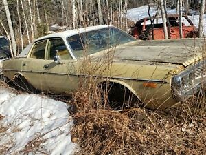 73 Dodge Coronet 318 V 8 Auto project Or Parts