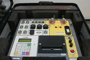 Doble Vanguard Ct 8000 Digital Circuit Breaker Analyzer Tester 200a 6 Contacts