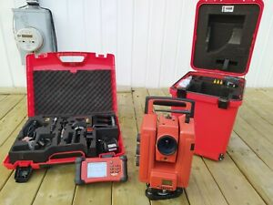 Hilti Pos 180 Robotic Total Station for One person Operation