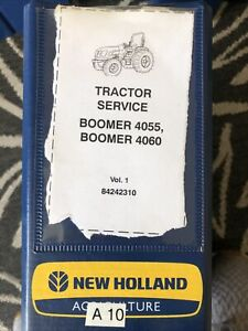 New Holland Boomer 4055 4060 Tractor Shop Service Repair Manual