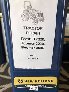 New Holland T2210 T2220 2030 2035 Boomer Tractor Service Shop Repair Manual Book