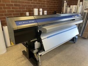Soljet Pro 4 Xr 640 64 Eco solvent Inkjet Printer cutter With Extended Heater