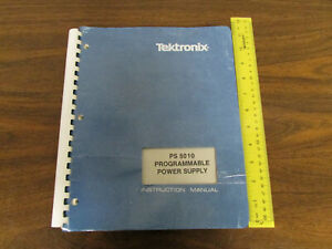 Tektronix Ps 5010 Programmable Power Supply Instruction Manual 070 3391 00