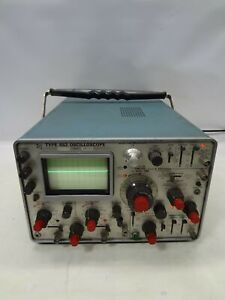 Vintage Tektronix Type 453 Two channel Oscilloscope