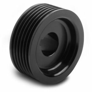 Weiand 90636 Powercharger Pulley 2 5 Diameter 6 Rib For 142 144 177 Blower New