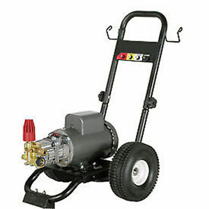 Pressure Washer Electric Commercial 2 Hp 110v 1 500 Psi 2 Gpm Bxd