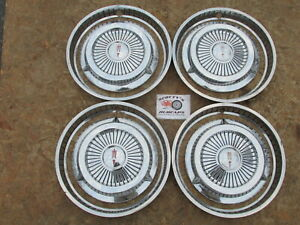 1959 1960 Oldsmobile 88 Super 88 Dynamic 88 Trim Rings And Hubcaps Awesome