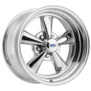 17x7 Cragar 61c S s 5x120 7 5x4 75 Chrome Plated Wheel Rim qty 1