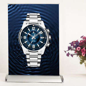 A3 mini Table Top Retractable Trade Show Display Banner Stand 11 1 2 X 17