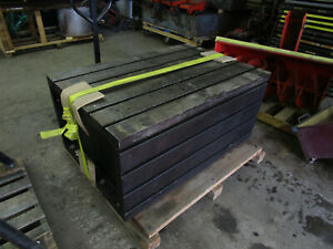 T slotted Box Table Boring Mill Radial Drill Welding Fixture Angle Plate Etc