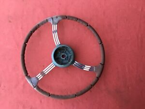 Original 1939 Packard Factory Accessory Banjo Steering Wheel