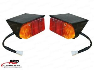Rear Tail Light Set Of 2 Pieces For Mahindra Tractor 4500 5500 4530 3550 5565