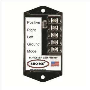 Sho me Led Flasher 7 Strobe Style Patterns terminals made In Usa