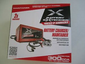 Battery Charger 6 volt Or 12 volt 2 Amp For Auto Car Or Boat