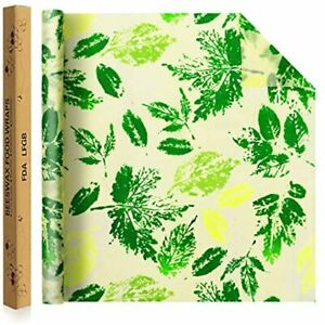 Jolitac Beeswax Food Wrap Roll 38 5 quotx14 quot Eco friendly Reusable Wrappers