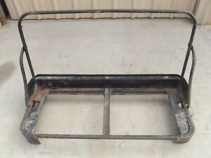 Chevrolet Truck Seat Frame With Tracks 1949 1950 1951 1953 1954 Chevy