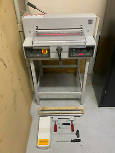 Triumph 4215 Electronic Guillotine Paper Cutter digital Display Led Guide