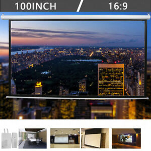 3d Hd 100 16 9 Material Electric Motorized Projector Screen remote Control