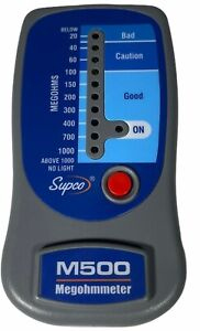 Supco M500 Insulation Tester Megohmmeter Used In Excellent Condition