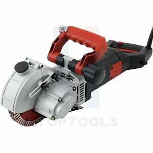 5800 W Electric Brick Wall Chaser Concrete Cutter Groover Wall Slotting Machine