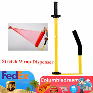 Manual Stretch Film Dispenser Tools Pallet Packing Wrapping Industrial Use