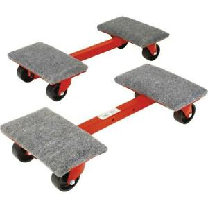 1 000 Lb Heavy duty Cargo Dollies 2 pack Moving Dolly Furniture Appliance Mover