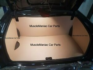 1955 1956 1957 Chevy Chevrolet Trunk Dress Up Kit Tan Panelboard 4pc 55 56 57